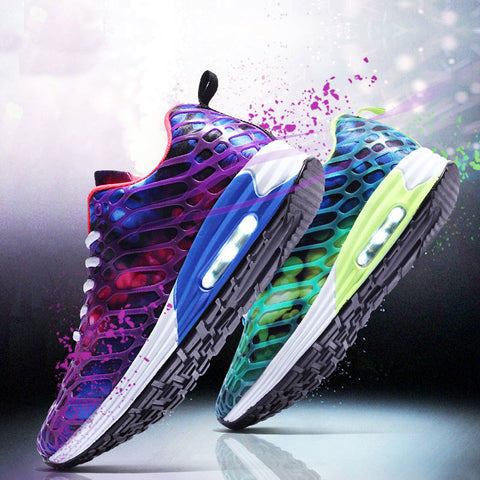 Women Shoes Air Mesh Cushioning Wear-resistant Women Running Shoes Fashion Sneakers 2019 New Women Sports Shoes zapatos de mujer