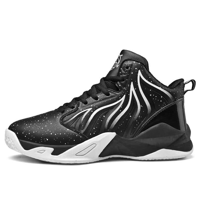 Mens Basketball Shoes Breathable Comfortable Outdoor Sports High Top Gym Training Boots Basketball Sneakers Men Big Size 36-48