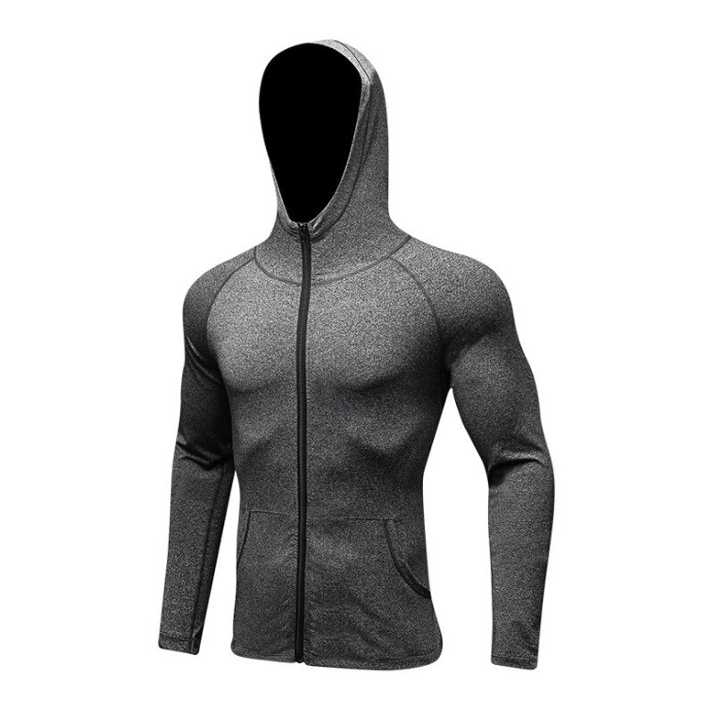 Yuerlian Sports Jacket spring autumn winter Riding Off-Road Racing Sports Jacket Clothing Fitness quick dry Hooded coats