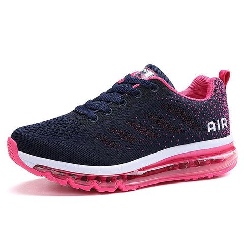 Cushioning Running Shoes for Women Breathable Mesh Sneakers Woman Wear-resistance Gym Sports Shoe Road Walking Jogging Size 42