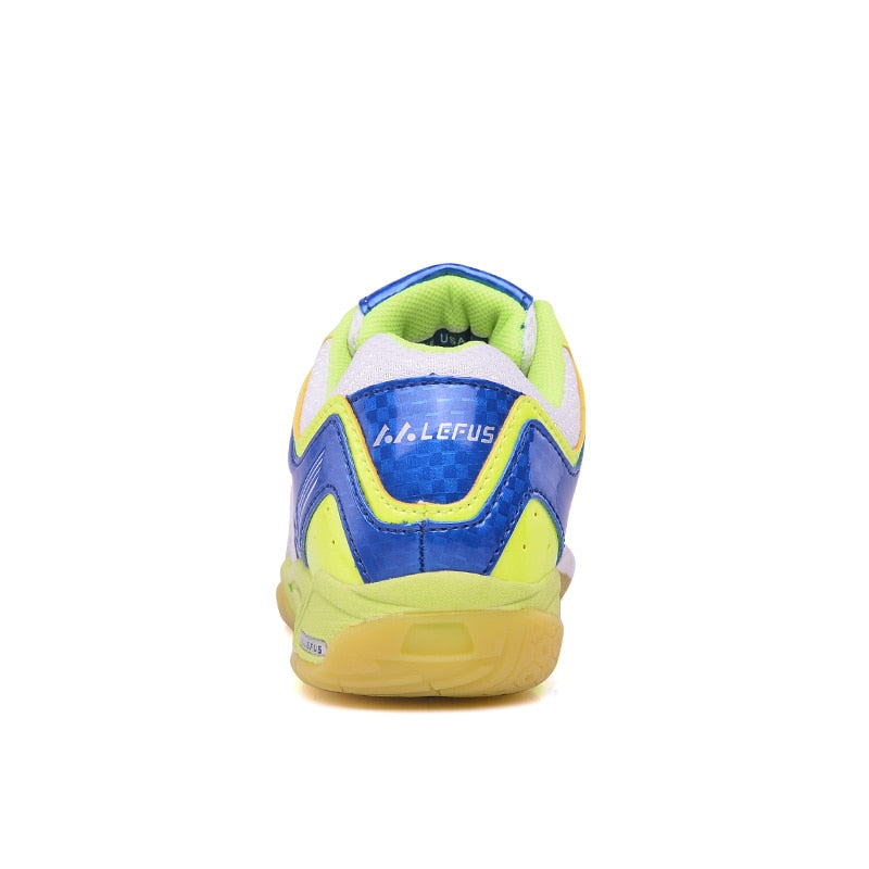 Table Tennis Shoes for Kids Children Girls Boys Badminton Shoes Breathable Anti-skid Badminton Sneakers Indoor Sport Shoes
