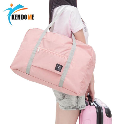 Outdoor Travelling Gym bags Portable Female Folding Storage Sports Fitness Bag Large Capacity Women Fitness Bag Male Tie Case