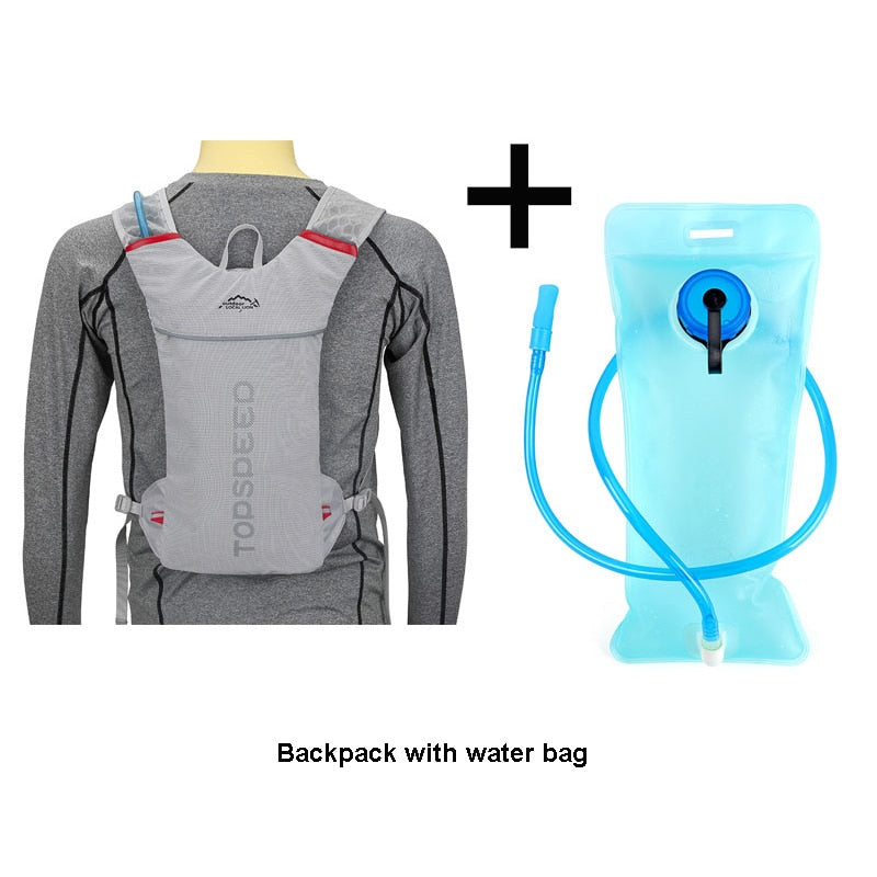 LOCAL LION 5L Running Hydration Backpack, Women Men Jogging Sport Backpack ,Trail Running Marathon Bag, No Water Bag