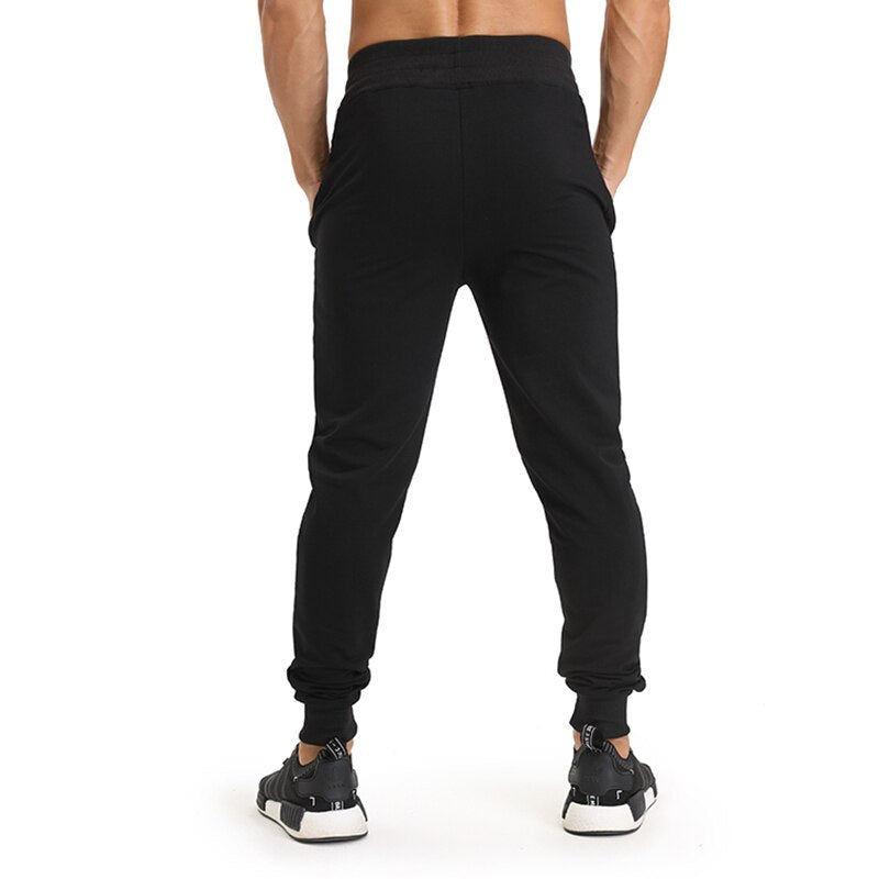 Men Sport Pants Jogging Leggings Running Pants Tight Compression Gym Training Workout Exercises Trousers