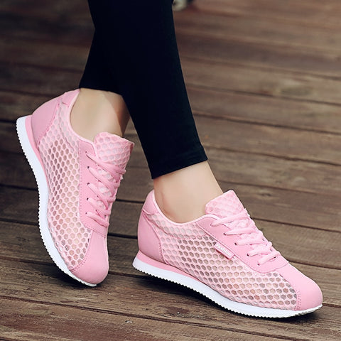 Tenis Feminino 2018 New Women Light Soft Gym Sport Shoes Women Tennis Shoes Female Stability Athletic Sneakers Trainers Cheap