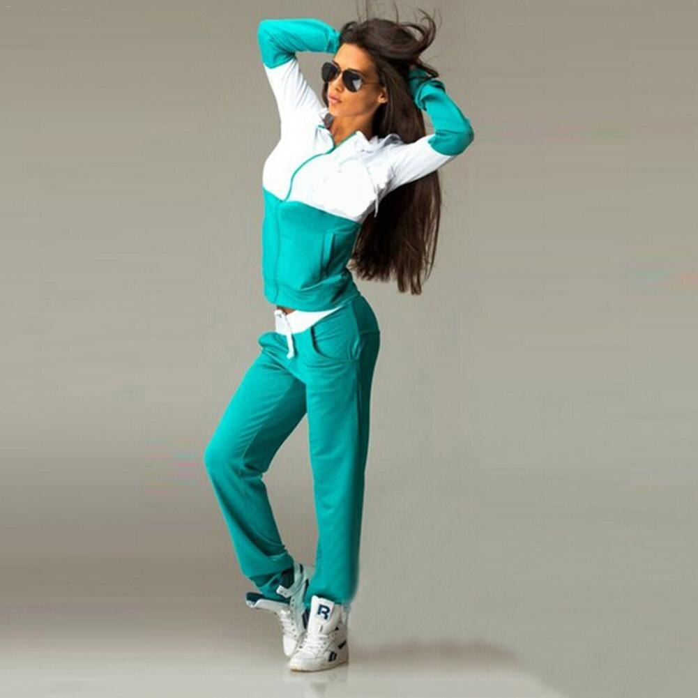 2-piece women's sports suit sexy sportswear jogging sports suit jogging suits for women Track suit Sports woman overalls