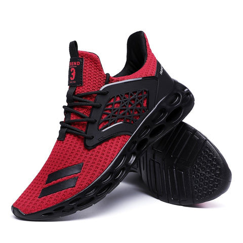 New Spring 2019 Hot sale Comfortable Running Sports For Men Outdoors Activities trainers Wear-Resistant Breathable man Sneakers