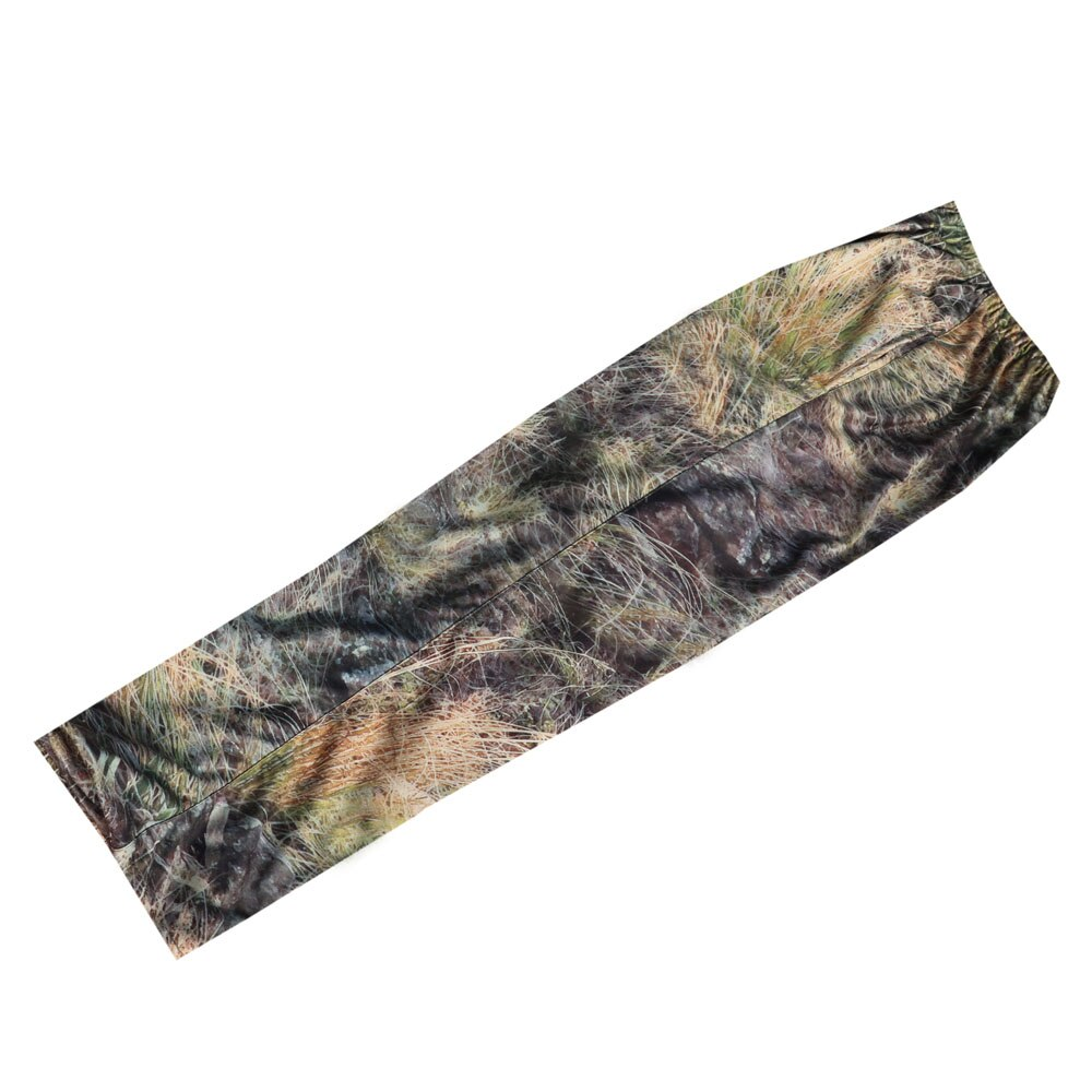 Men Outdoor Bionic Grass Camouflage Pants Wear-Resistant Breathable Trousers Silent Camo Hunting Camping Shooting Fishing Pants