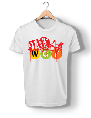 DECK Drip Tag W.G.F. Train Bullets T-Shirt
