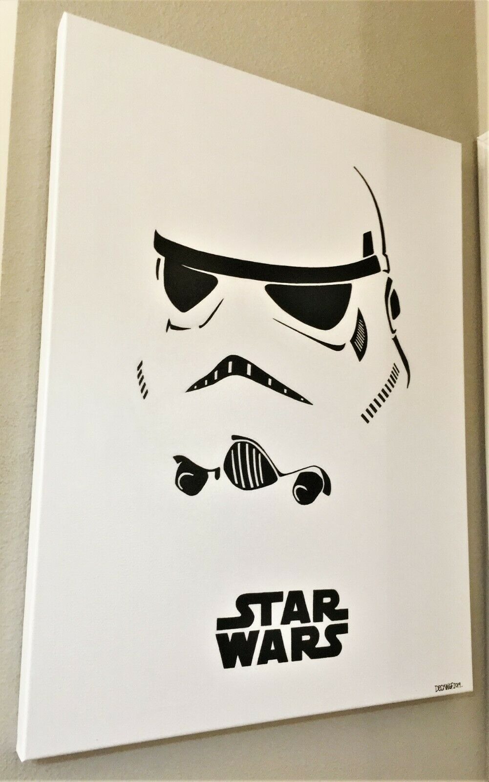 "Star Wars - Storm Trooping 30"" x 40"" canvas"