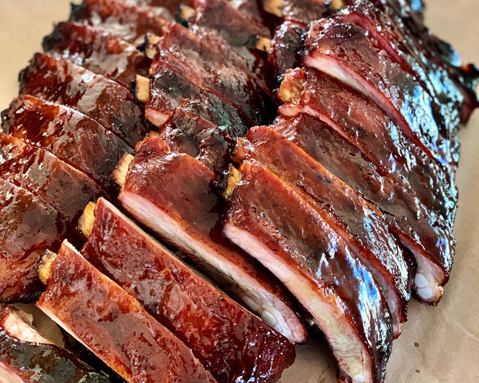 PORK RIBS - 1/2 rack