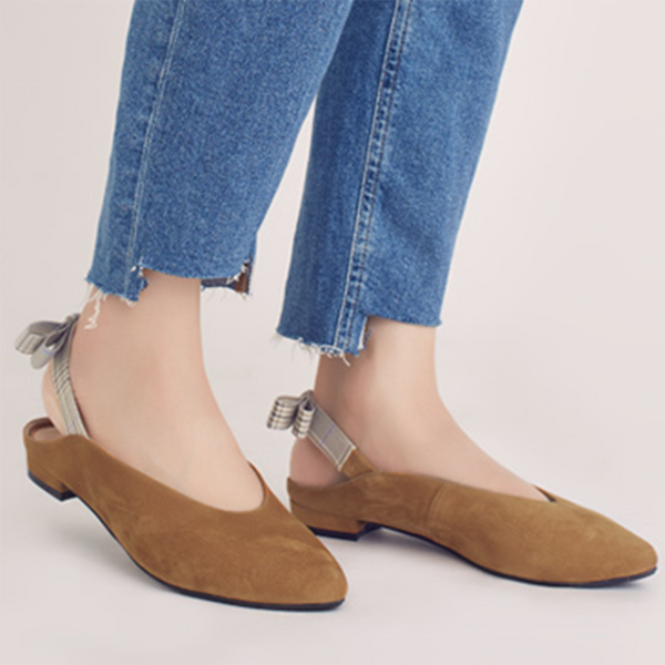 Sweet Mules Pointed Toe Flats