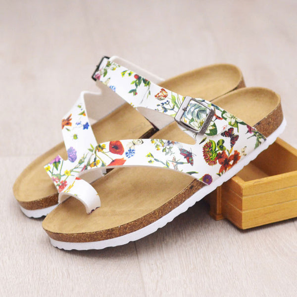 Outdoor Round Toe Wedge Heel Summer Sandals