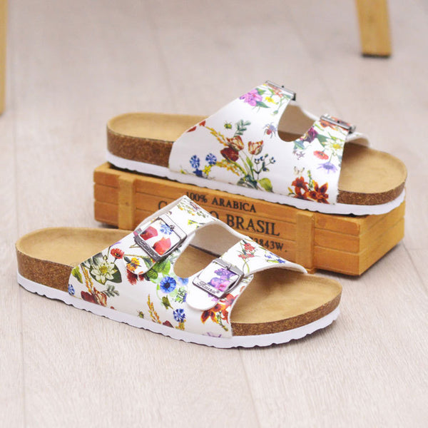 Summer Round Toe Wedge Heel Sandals