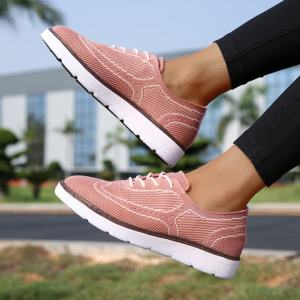 Spring/Summer Woven Mesh Daily Casual Sports Shoes