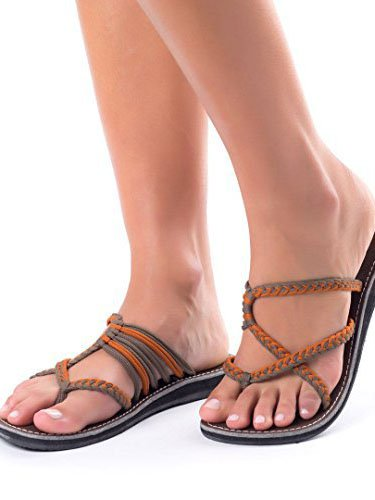Summer Flip-Flops Comfortable Pu Sandals