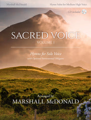 Sacred Hymns, Vol. 1 for Medium High Voice