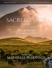 Sacred Voice, Vol. 1 for Medium Low Voice