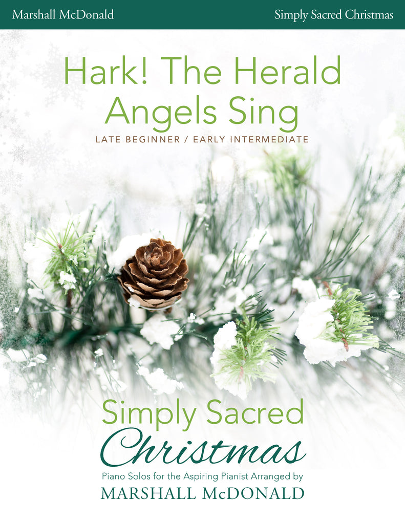 Hark! The Herald Angels Sing (simple piano)