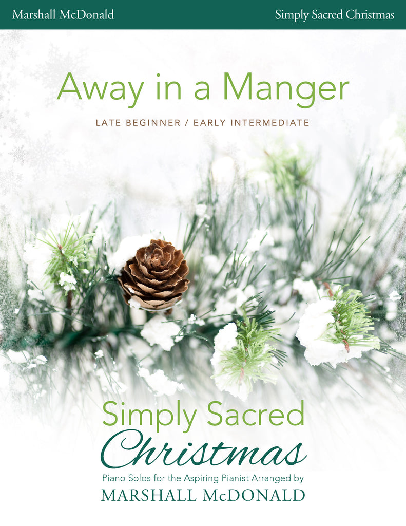 Away in a Manger (simple piano)