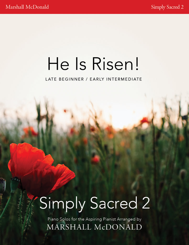 He Is Risen! (simple piano)