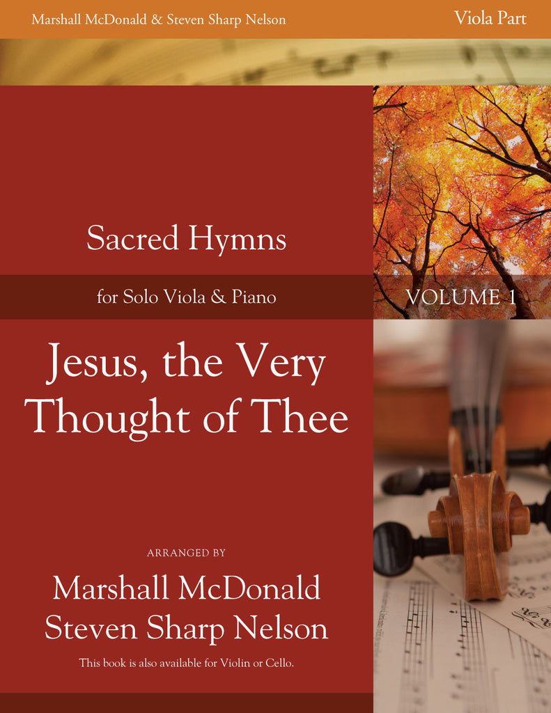 Jesus, the Very Thought of Thee (viola)