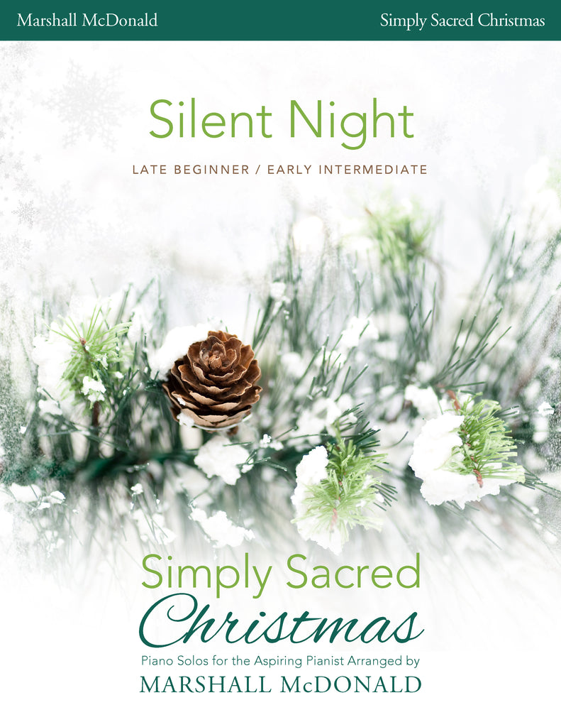 Silent Night (simple piano)
