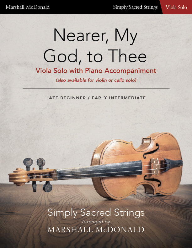 Nearer, My God, To Thee (simple viola)