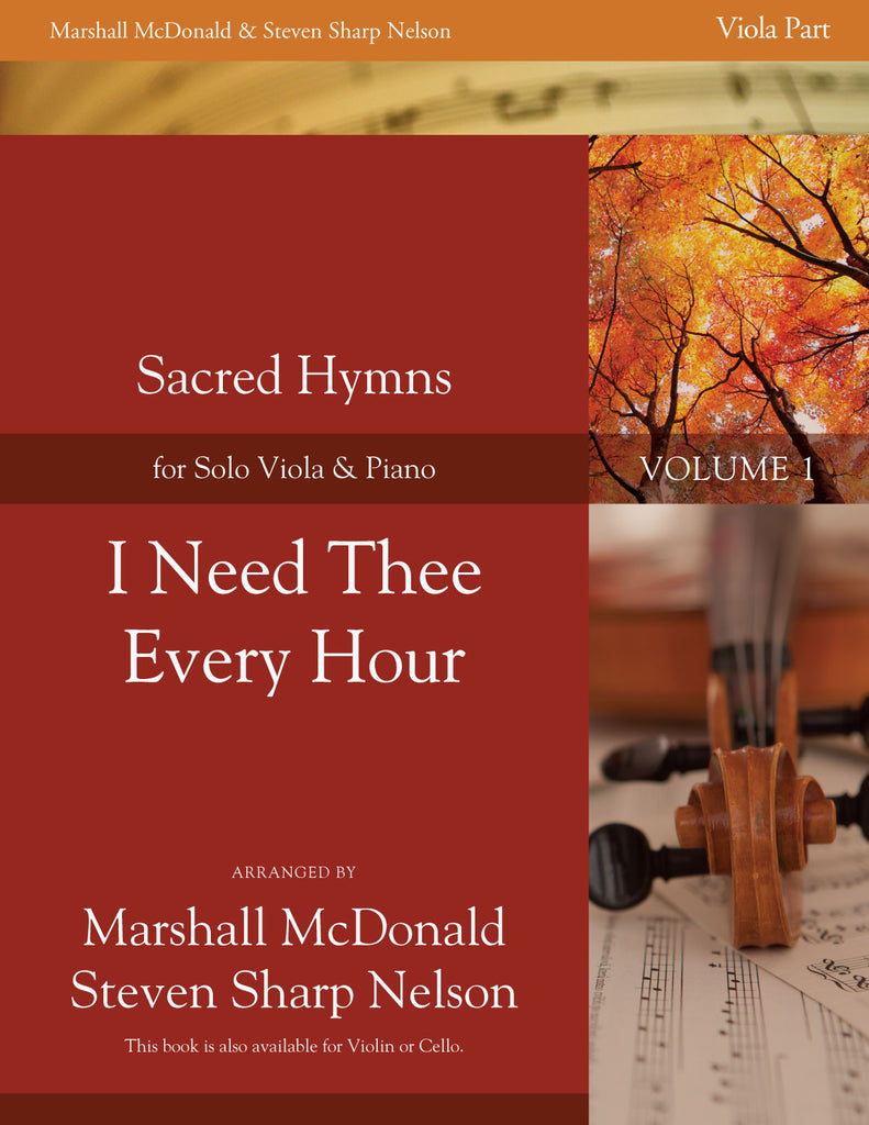 I Need Thee Every Hour (viola)