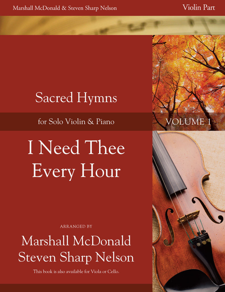 I Need Thee Every Hour (violin)