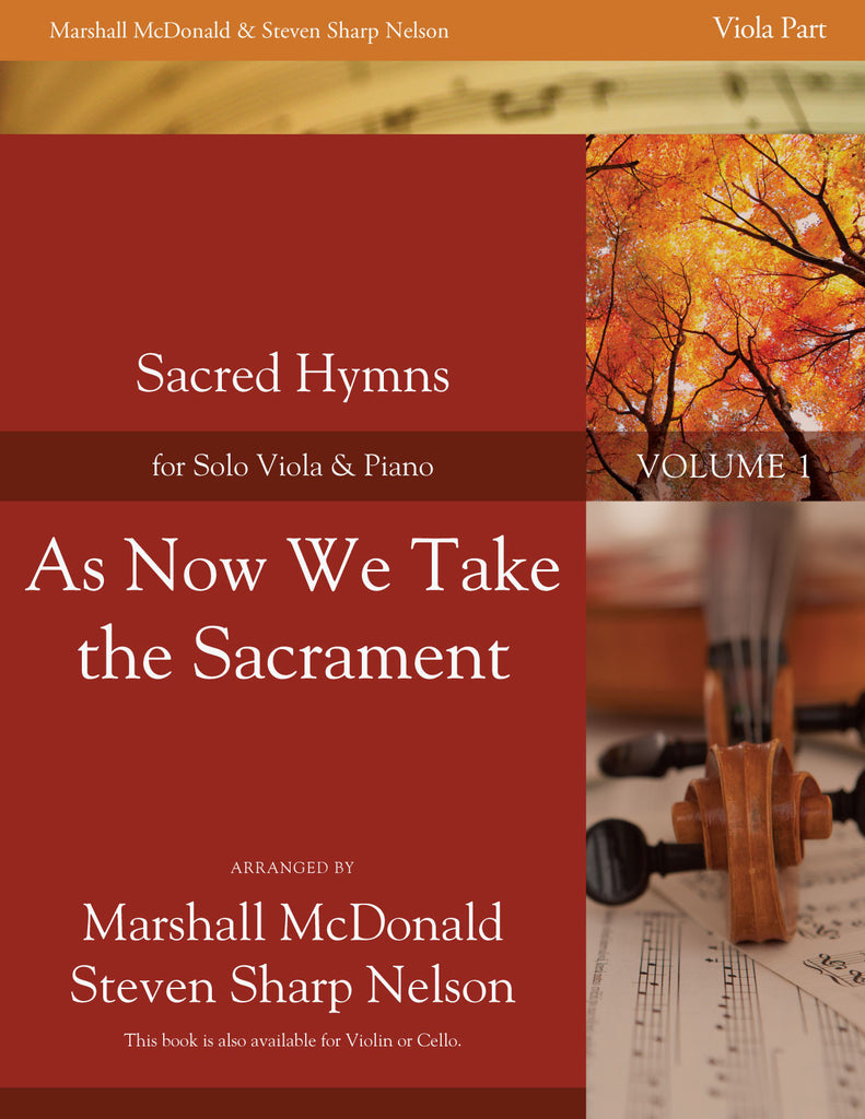 As Now We Take the Sacrament (viola)