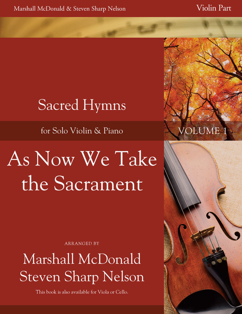 As Now We Take the Sacrament (violin)