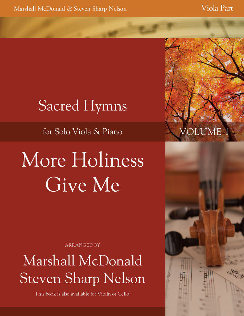 More Holiness Give Me (viola)