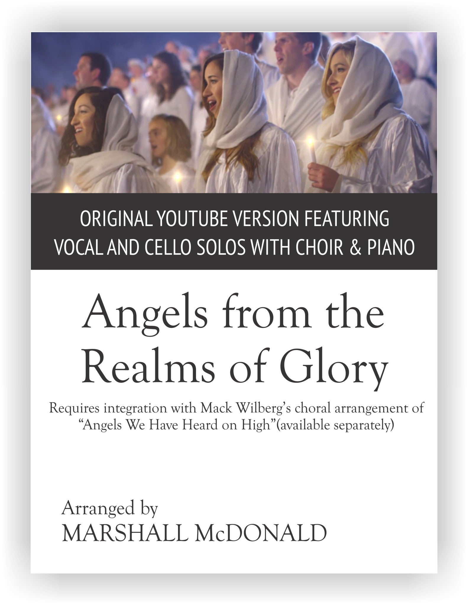 Angels From The Realms Of Glory Original Version Marshall Mcdonald