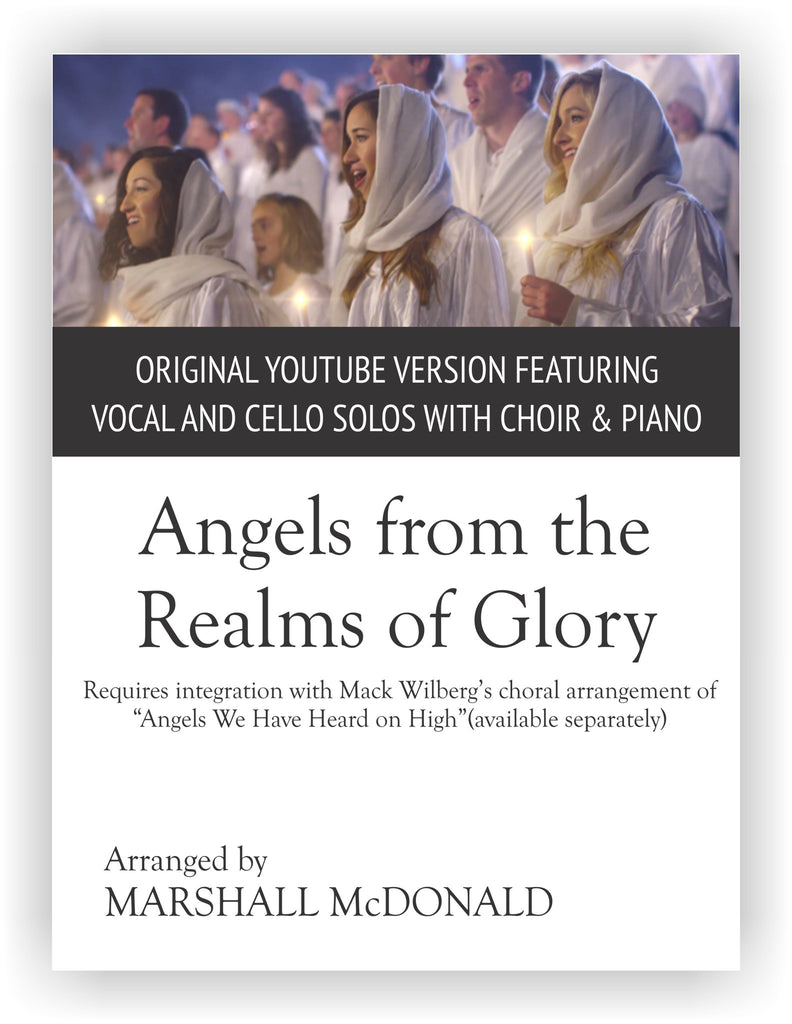 Angels from the Realms of Glory (original version)