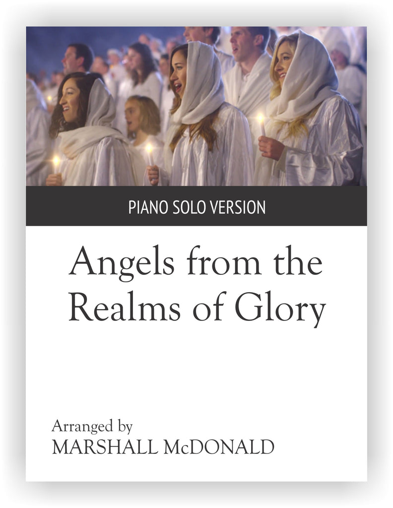 Angels from the Realms of Glory (piano solo)