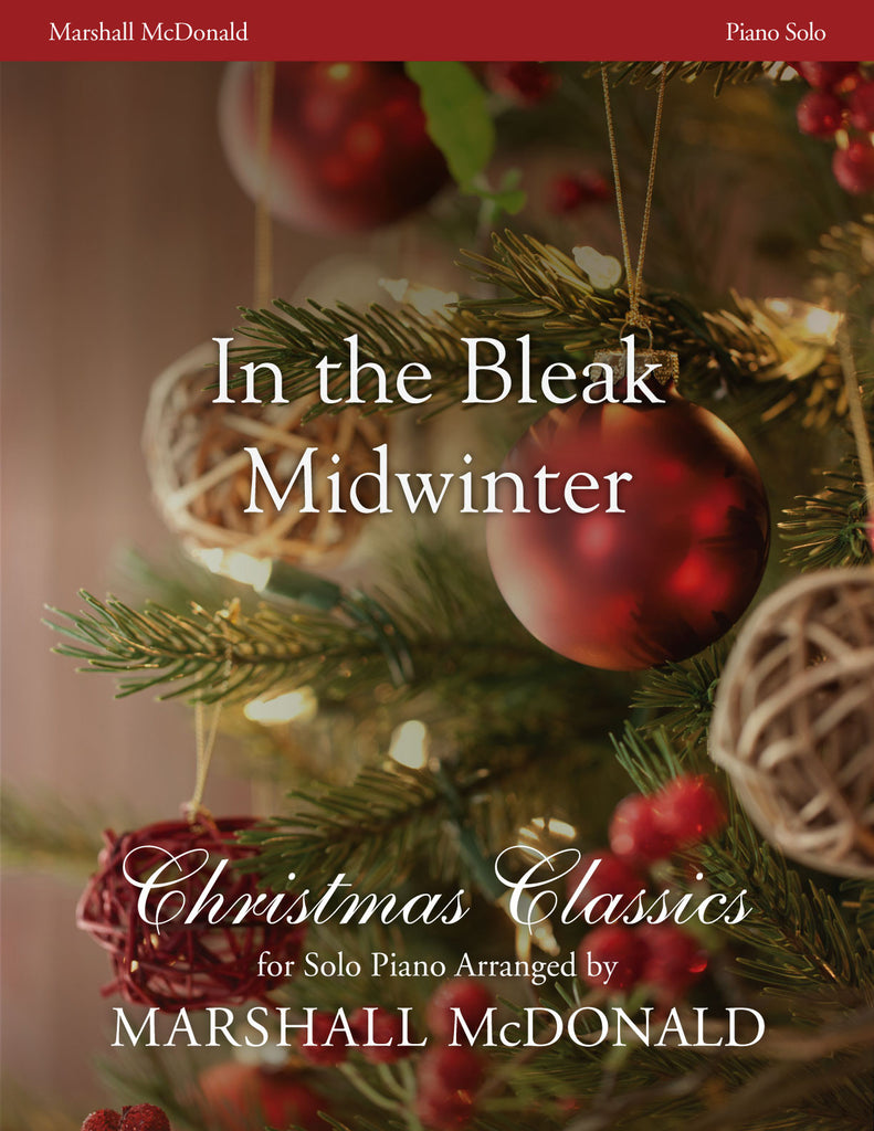 In the Bleak Midwinter (piano)