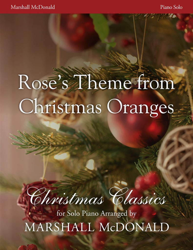 Rose's Theme from Christmas Oranges (piano)