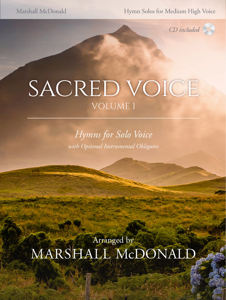 Sacred Voice, Vol. 1 for Medium HIGH Voice (sheet music book)