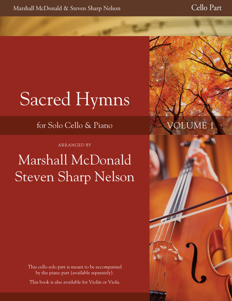 Sacred Hymns, Vol. 1 (cello with piano accompaniment)