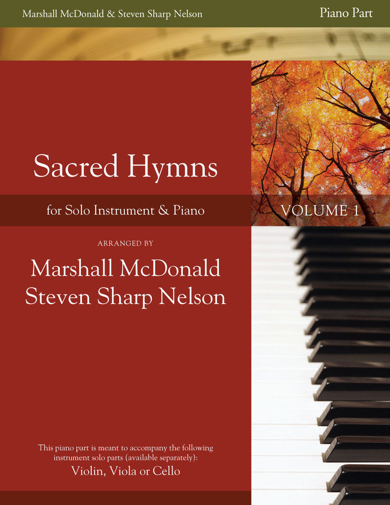Sacred Hymns, Vol. 1 (piano accompaniment book only)
