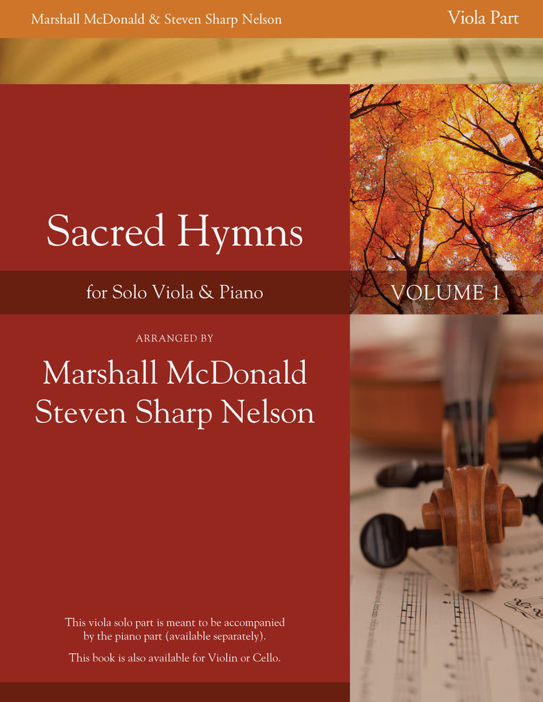 Sacred Hymns, Vol. 1 (viola with piano accompaniment)