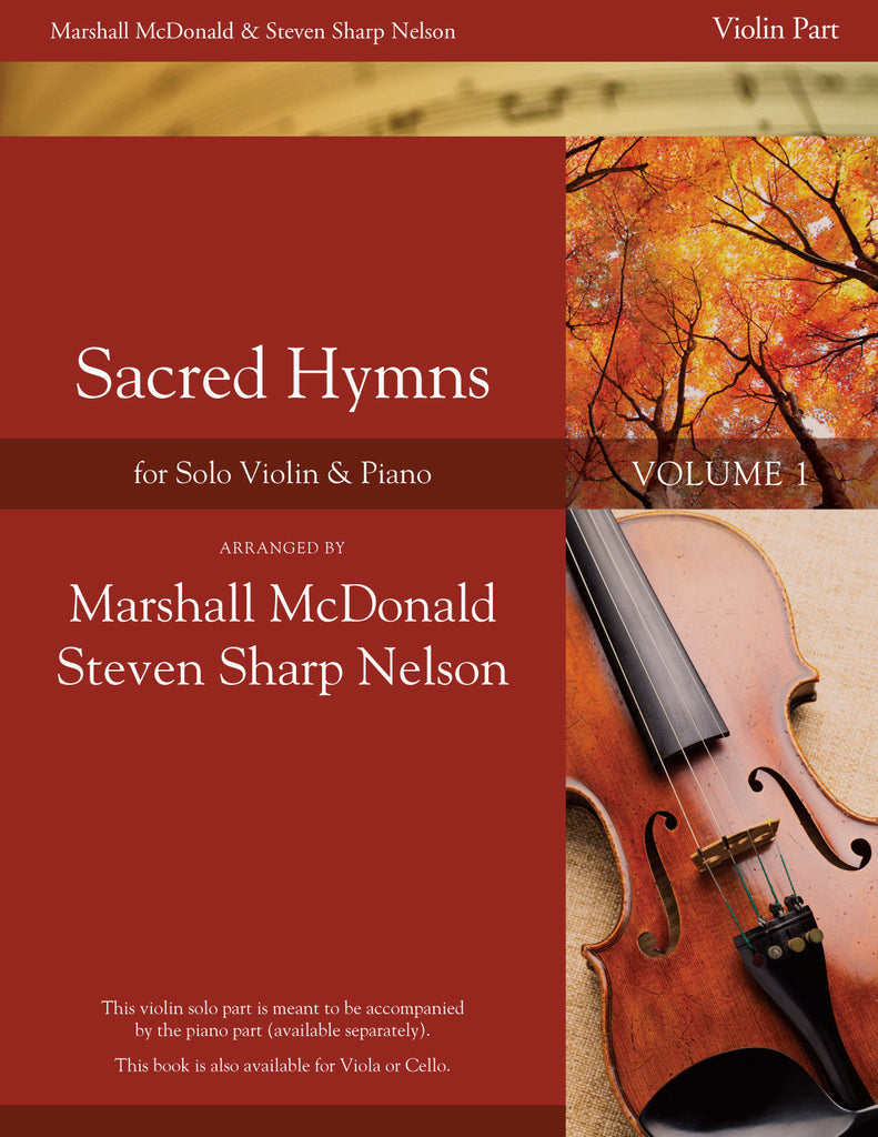 Sacred Hymns, Vol. 1 (violin booklet only)