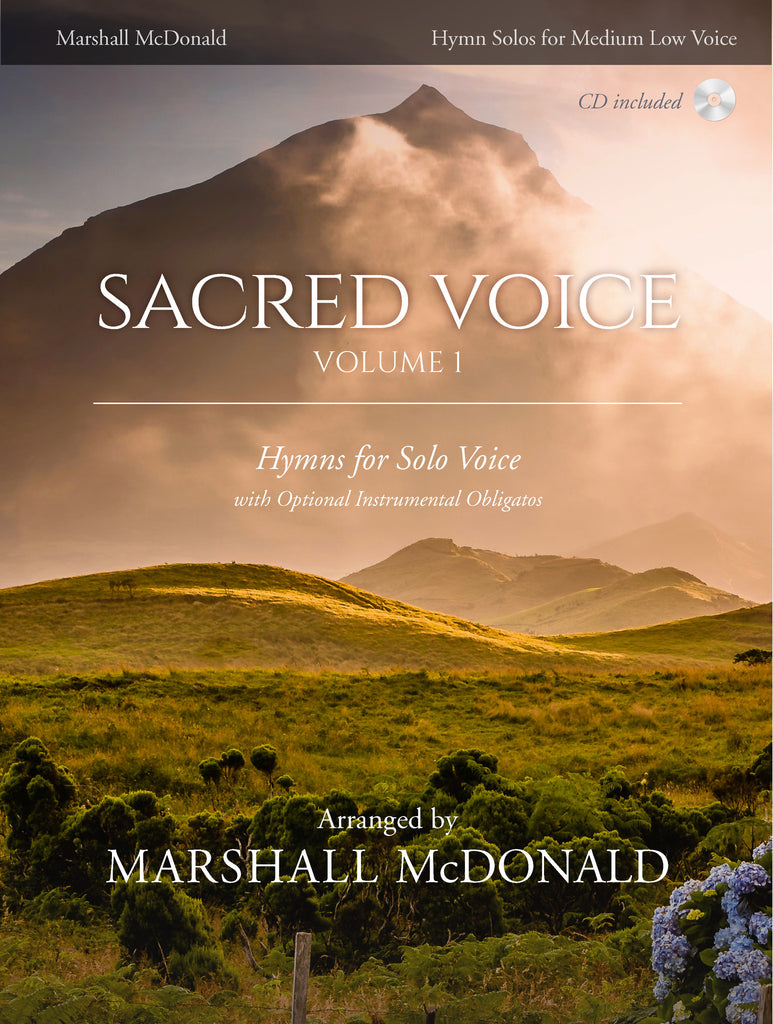 Sacred Voice, Vol. 1 for Medium LOW Voice (sheet music book)