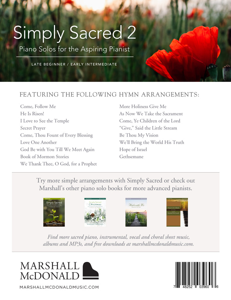 Simply Sacred 2 (piano solo book)