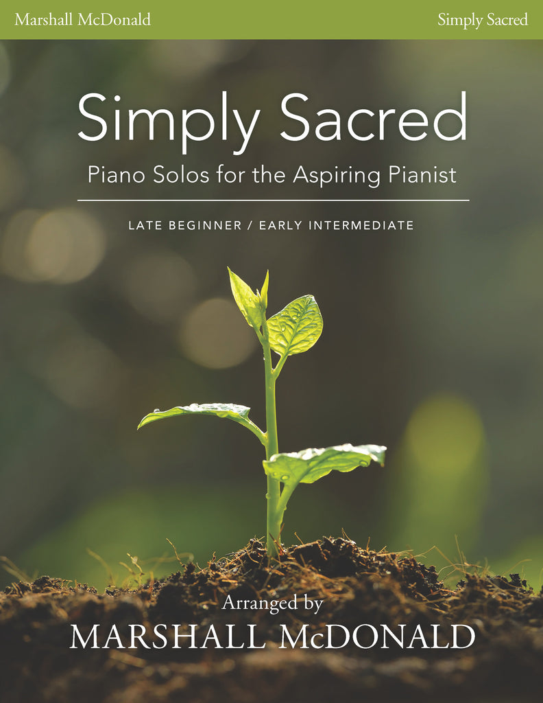 Simply Sacred (piano solo book)