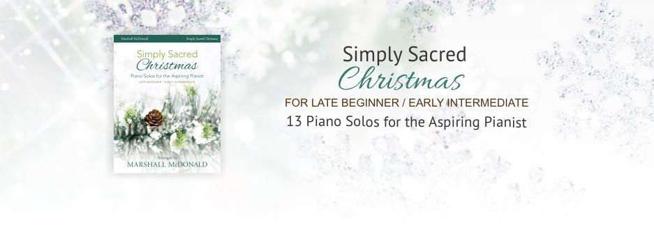 Abide with Me piano solo book