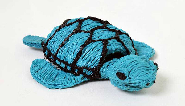 Nature tortue stylo 3d