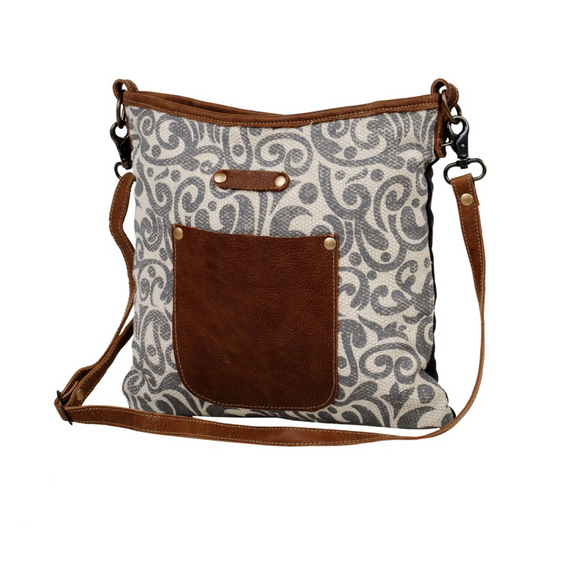 BLOOMY SHOULDER BAG by MYRA BAGS