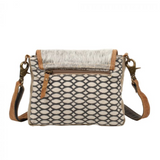 HAIRON FLAP & HONEY BEE DESIGN SMALL CROSSBODY BY MYRA BAGS